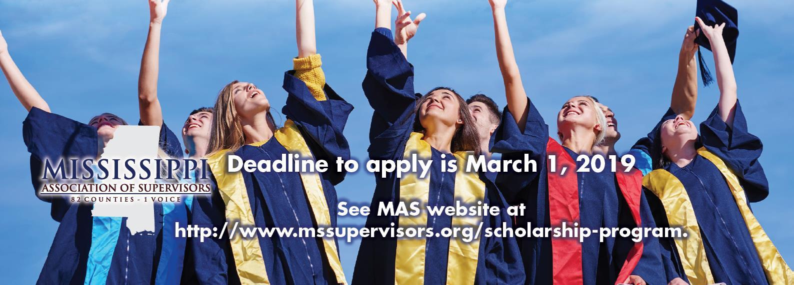 2019 MAS Scholarship Application