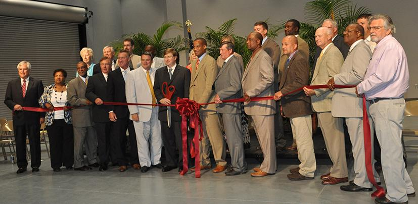 Ribbon Cutting for Jasper County location of Jones County Junior College